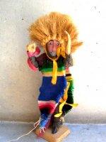 チアパス 木製人形 伝統舞踊 [パラチコのダンス]