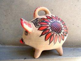 チアパス ピギーバンク [豚の貯金箱] スーベニール