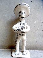 ゲレーロ  陶芸 漆喰人形 [カンタンテ] ビンテージ