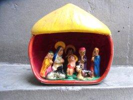 ペルー ナシミエント ミニチュア  [イエス誕生] レタブロ