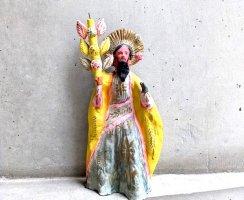 メテペック 陶芸品  [聖ヨセフ像] ビンテージ