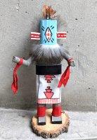 ナバホ アリゾナ カチナドール  [19cmサイズ 戦士 その2] ココペリ