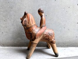 ゲレーロ  陶芸 テラコッタ人形 [バケーロ] ビンテージ