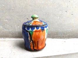 オアハカ 陶器 ドリップウェア [シュガーポット] ビンテージ
