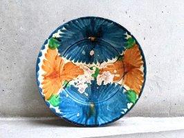 オアハカ 陶器 ドリップウェア [二彩葉模様 リーフ] ビンテージ