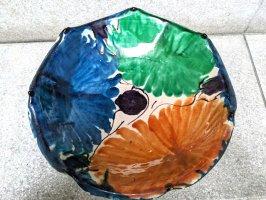 オアハカ 陶器 ドリップウェア [三彩脚付杯 ボウル] ビンテージ