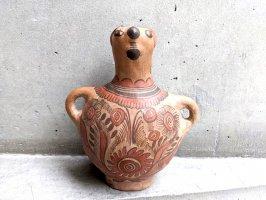 ゲレーロ  陶芸 テラコッタ人形 [一輪挿し 壺] ビンテージ