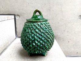 ミチョアカン 焼き物 陶器  [ピニャ 壺 23cm]  ビンテージ