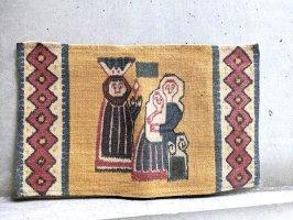 北欧 デンマーク 型染めジュート  [子の洗礼