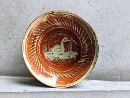 トナラ 陶器  大鉢  [ボウル アヒル 23×7cm]  ビンテージ