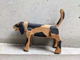 オアハカ ウッドカービング 木彫り人形  [イヌ]  ビンテージ