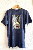 ルチャリブレ Tシャツ [ドスカラス / チャコールグレーMIX]XLサイズ