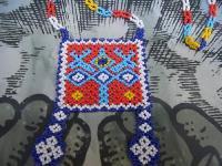 ウィチョール族のビーズネックレス [オホデディオス] アクセサリー 民芸品