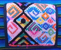 グアテマラ 刺繍 リメイク ウォレット 財布 [ダイヤ]