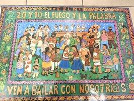 サパティスタ EZLN ポスター [我らとダンス]インテリア ビッグサイズ
