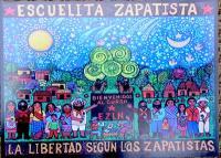 サパティスタ EZLN ポストカード アウロラ [エスクエリタ]