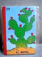 メキシコ ロテリア デザイン [ノパル] ミニノート マリナルコ