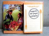 メキシコ レトロ [アモール] マグネット ブロックメモ