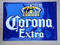 コロナ ビール プラスチック [プレート]  看板 ビッグサイズ
