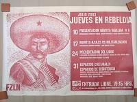 サパティスタ EZLN ポスター アート [サパタ]  アリシア