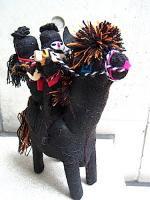サパティスタ EZLN 人形 馬 [ゲリラ 二人]