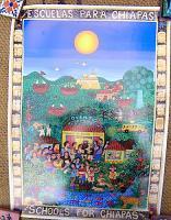 サパティスタ EZLN ポスター [オベンティック 学校] インテリア