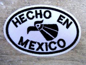 ワッペン アイロン 刺繍 メキシコ [アギラ] チカーノ