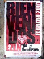 サパティスタ EZLN ポスター アート [7周年]  アリシア