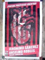 サパティスタ EZLN ポスター アート [プレソス・ポリティカ・リベルタド]  アリシア