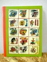 メキシコ [アステカ文字] レトロ ノートブック マリナルコ
