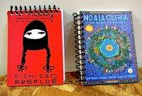 サパティスタ EZLN リングノート [ラモナ 戦争反対] スモール