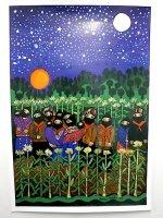 サパティスタ EZLN ポスター [夜のサパティスタ] インテリア
