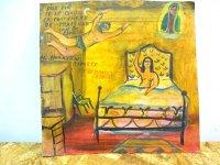 アート エクスボト 奉納画 [ウラカン・ラミレス 寝室] 絵画