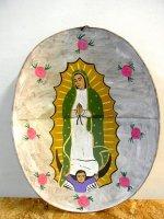 グアダルーペ マリア  [ボノラ トタン絵] アート 民芸品