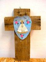 ボノラ 十字架 ウッドクロス [ラ・ソルダー] ビンテージ