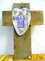 ボノラ 十字架 ウッドクロス [アトーチャ] ビンテージ