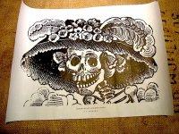 カラベラ ポサダ 版画 ポスター[カトリーナ] 死者の日