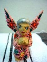 アレブリヘス 木彫り 民芸品 [アンヘル 天使] オアハカ ティルカヘテ