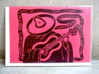 グリーティングカード マリナルコ [ラ・クカラチャ] メッセージカード