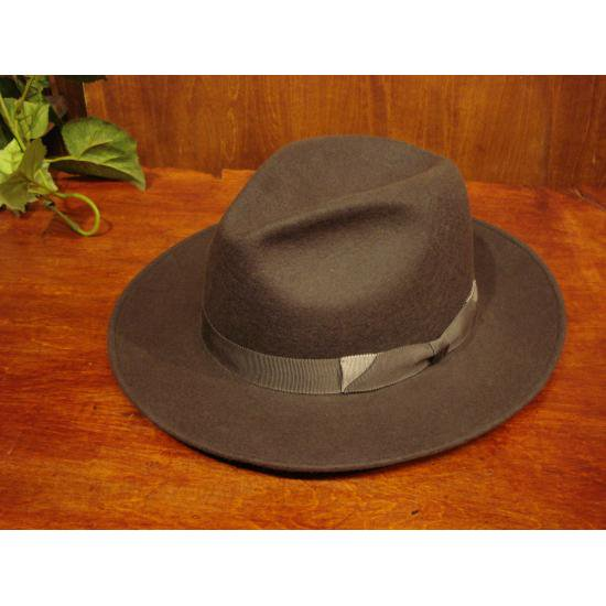 Racal(ラカル) Double Ribbon Wool Fedora RL-15-761