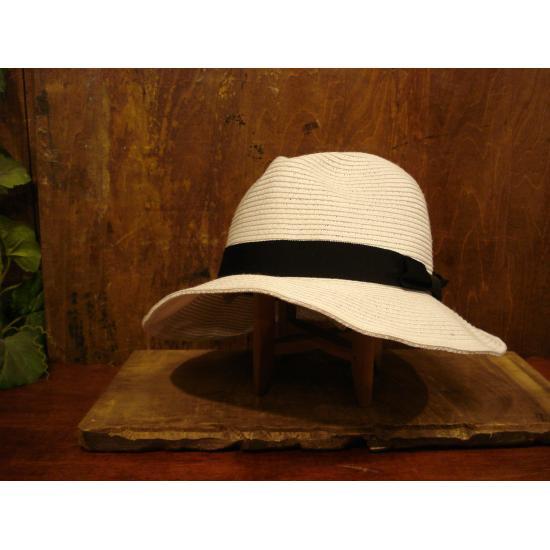 Basiquenti(ベーシックエンチ) Flat Braid Hat  BCX-E40463