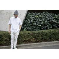 1TUCK PANTS/WHITE