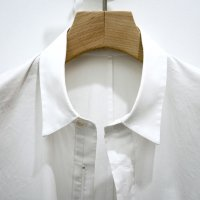ZIP SHIRTS/WHITE