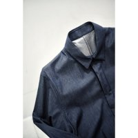 ZIP SHIRTS/INDIGO