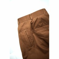 HENRI TROUSERS/WALNUT
