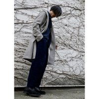 FOODY SHAWL COLLAR COAT/GREY