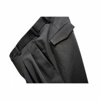 BOX TUCK TROUSERS/SENDAI LIMITED