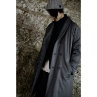 LONG DOWN COAT/CHARCOAL
