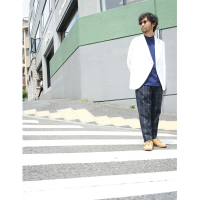 <img class='new_mark_img1' src='//img.shop-pro.jp/img/new/icons34.gif' style='border:none;display:inline;margin:0px;padding:0px;width:auto;' />【OUTER FAIR】ATELIER W CARDY/WHITE