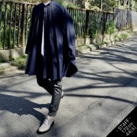 LONG SHIRT-COAT/NAVY